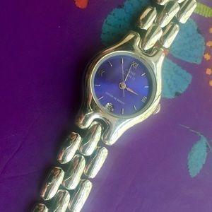 Rare Vintage Authentic Anne Klein II Purple Watch